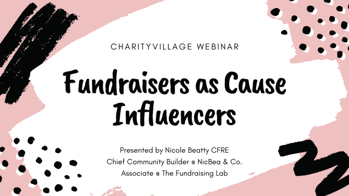 Charity Village_Webinar Presentation